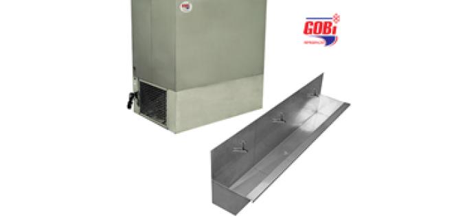 Bebedouro Industrial fixo de Inox GFL360 – Gobi refrigeração