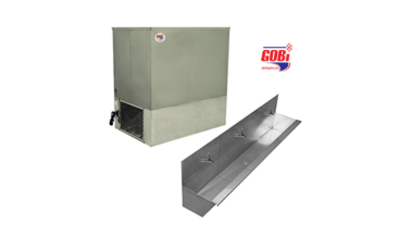 Bebedouro Industrial fixo de Inox GFL60 – Gobi refrigeração