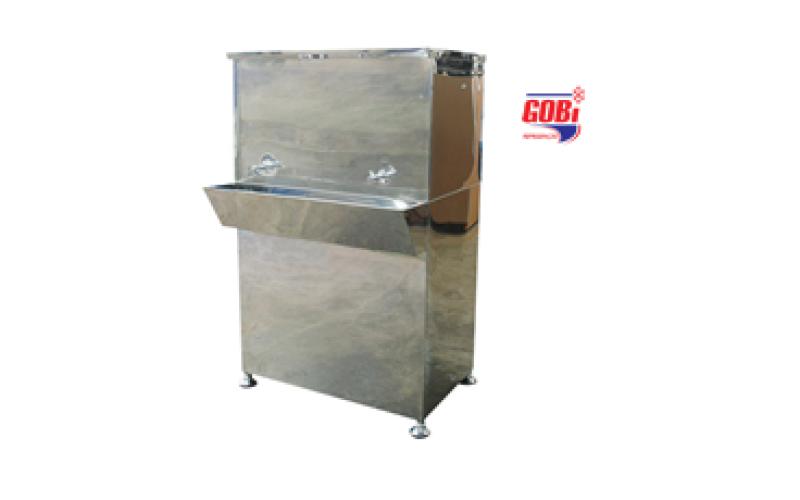 Bebedouro Industrial de coluna móvel de Inox GML180 – Gobi refrigeração – com termostato digital
