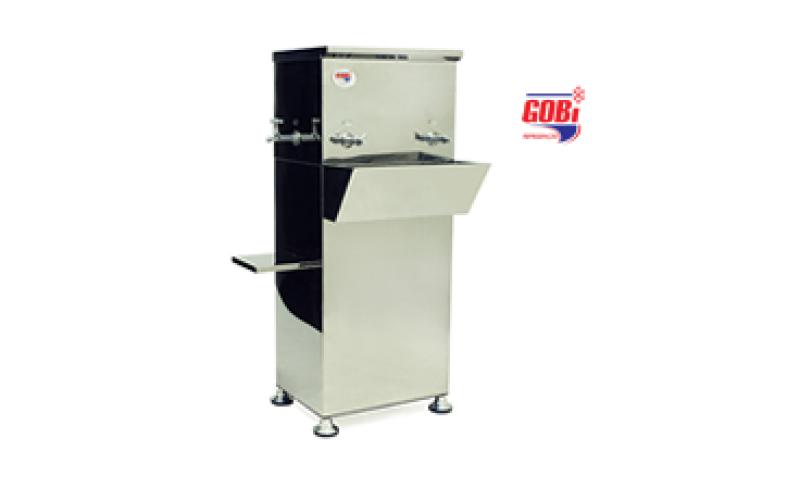 Bebedouro Industrial de coluna móvel de Inox GML120 – Gobi refrigeração – com termostato digital