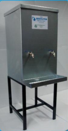 Bebedouro Alternativo ao Inox - Chapa Cristalizada